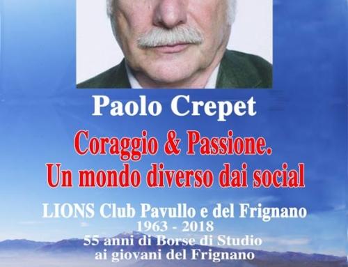 LIONS – CONSEGNA BORSE DI STUDIO – PAOLO CREPET