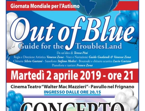 OUT OF BLUE – CONCERTO BENEFICO A FAVORE DI FRIGNAUT