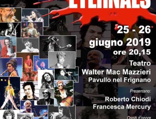 THE ETERNALS- MUSIC FACTORY – 25 E 26 GIUGNO ORE 20.15
