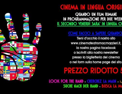 FILM IN LINGUA ORIGINALE